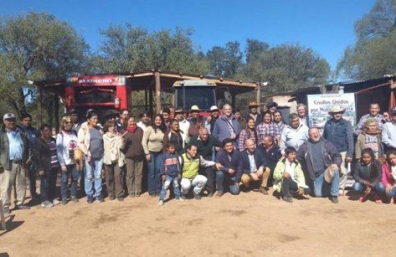 Entrega de maquinaria a pequeños productores de Salta Forestal