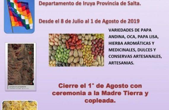 1º Feria de Productos Andinos en Colanzulí – Iruya – Salta
