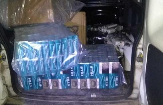 Incautan cigarrillos, hojas de coca y ropa ilegal ingresados como contrabando
