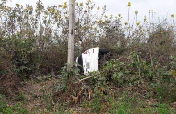 En Colonia Santa Rosa siniestro vial con víctima fatal