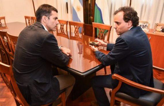 El Gobernador mantuvo una reunión con el intendente de Río Cuarto