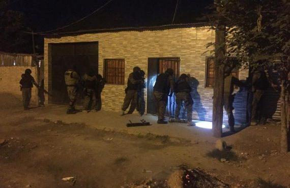 Tras 35 allanamientos detienen a 9 personas e incautan elementos probatorios