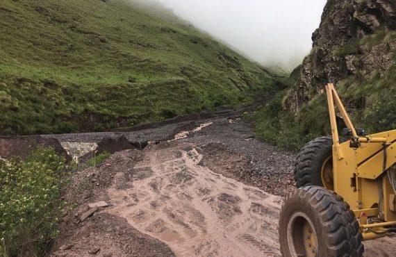 Por el festival en Cachi, máquinas de Vialidad de la Provincia estarán apostadas en la ruta 33 durante el fin de semana