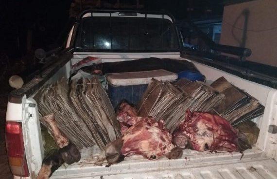 Secuestraron 600 kilos de carne que eran transportados sin las medidas mínimas de salud