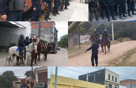 Patrullas de la División de Caballería y Canes de la Policía Provincial fortalecen el trabajo de custodia en la frontera con Bolivia