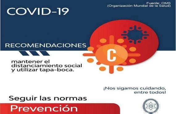 Reporte Provincial de casos de coronavirus del día miércoles 5 de agosto