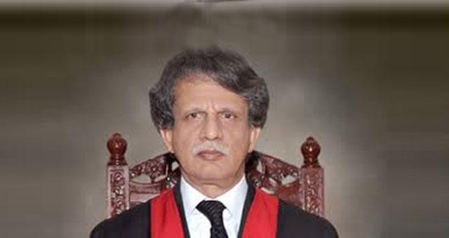 جسٹس (ر) عظمت سعید پر مشتمل تحقیقاتی کمیشن کا نوٹیفکیشن جاری