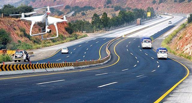 ڈرون کیمروں کے ذریعے ٹریفک مانیٹرنگ