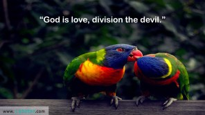 God is Love…