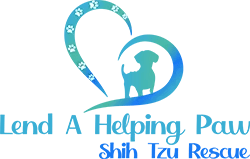 Lend A Helping Paw Shih Tzu Rescue Logo Give Donations