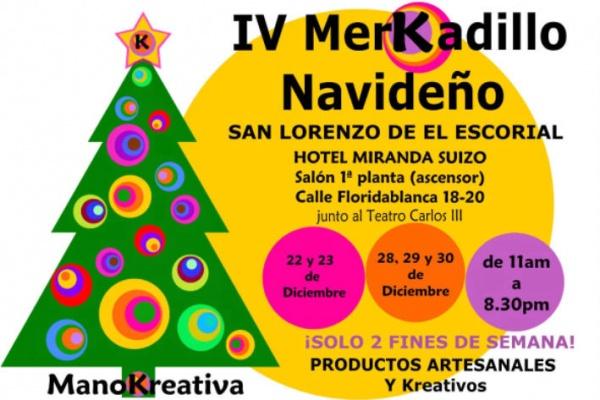 Mercado de Navidad en San Lorenzo del Escorial