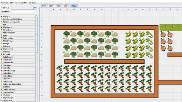 5 aplicaciones para organizar nuestro huerto for Asociacion de plantas en el huerto