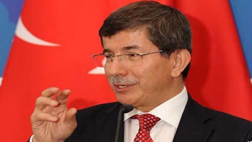 اوغلو رئيس الوزراء التركى