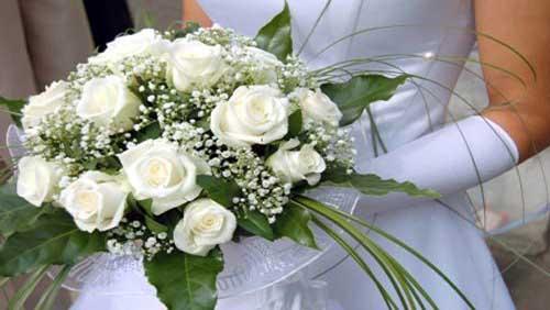 باقات زهور العروس