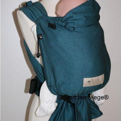 Storchenwiege - babycarrier turkis