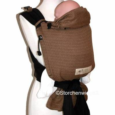 Storchenwiege babycarrier coffee