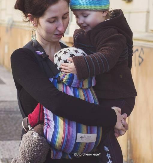 Storchenwiege babycarrier inka