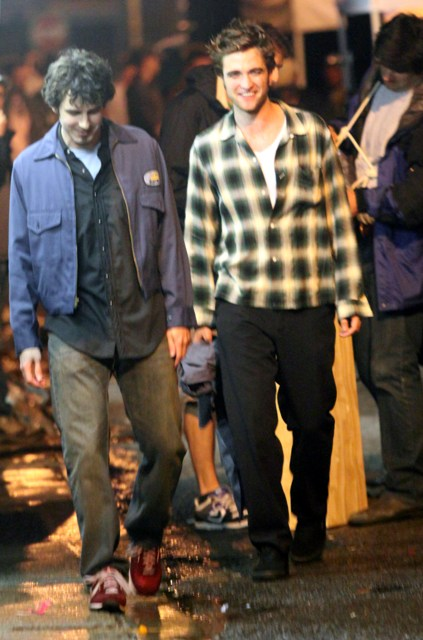 Rob filmando Remember Me (Junio 22, 2009)