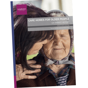Front cover, Care Homes for Older People, 29th ed