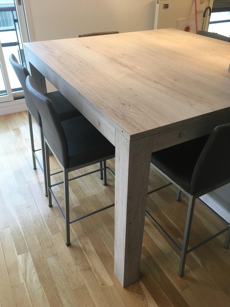 table haute extensible par boris
