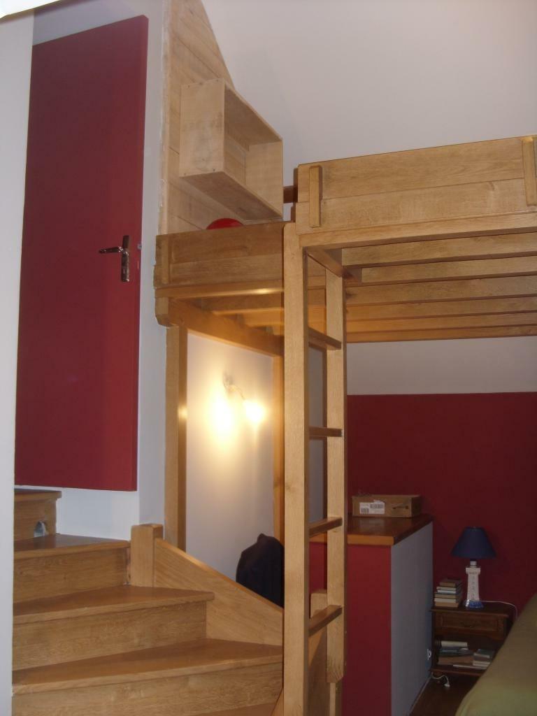Escalier Avec Mezzanine Par Riquet18x4 Sur LAir Du Bois