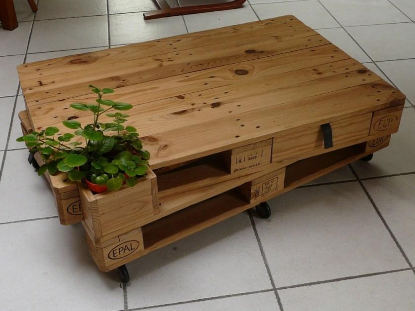 meuble en bois de palette