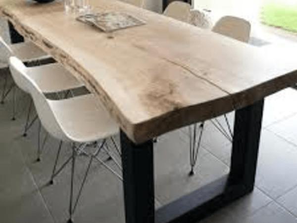 plateau de table en chene massif par