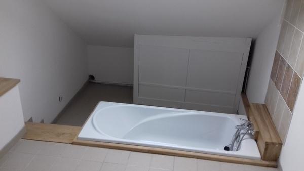 dessous de baignoire