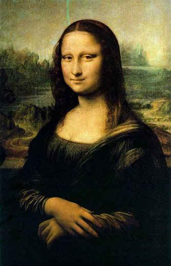 Mona Lisa ,The Louvre, Paris