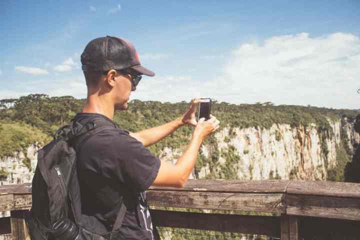 Mirante no Canyon Itaimbezinho