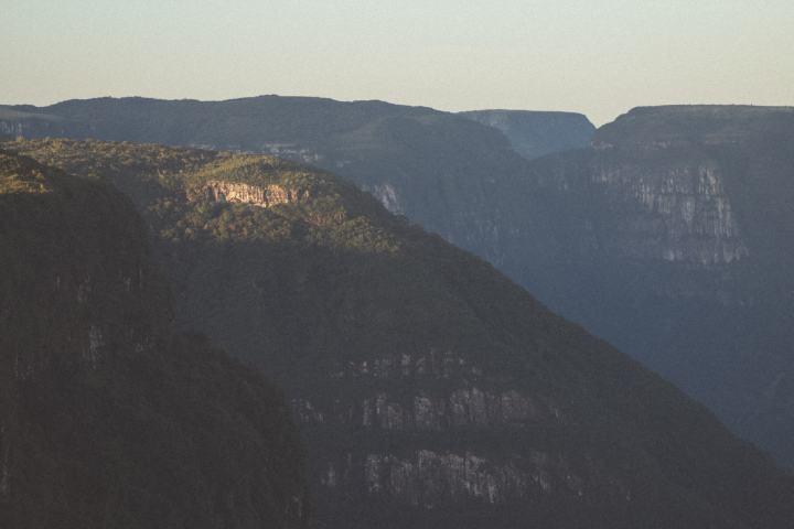 Vista do Canyon Indios Coroados