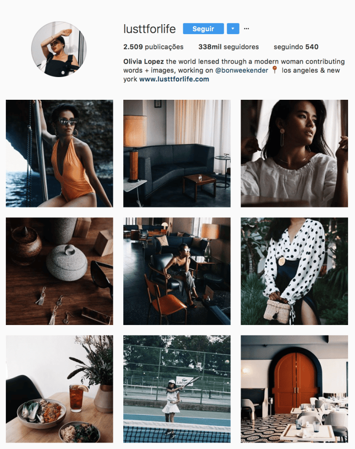 como organizar o feed instagram 8
