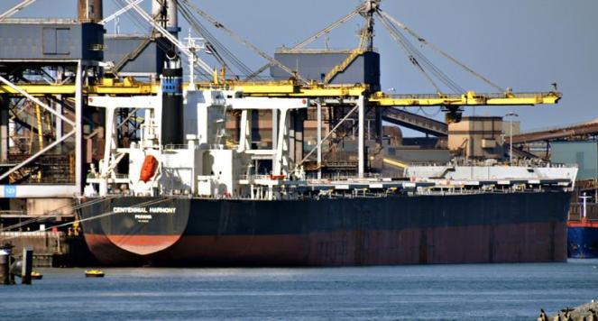 CENTENNIAL HARMONY. Rakennettu 2011, Japan. 292x45m. Bulk carrier. Nopeus 17 solmua. Pääkone 18660 KW. Lastikapasiteetti 201243 m3. Omistaja: MK CENTENNIAL MARITIME B.V. Hollanti. Lippu: Panama.