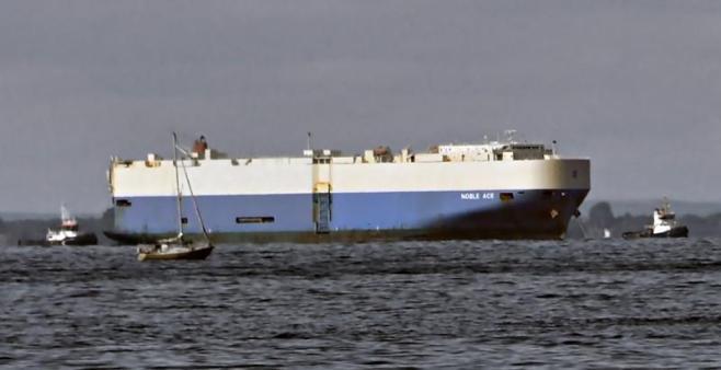 NOBLE ACE. Rakennettu 2010, Japani. 200x32m. Nopeus 20 solmua. Koneteho 4045 KW. Omistaja: Zodiak Maritime, U.K. Lippu: Iso Britannia.