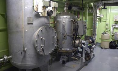 makeavesijärjestelmä laivassa