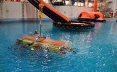 Pelastautuminen uppoavasta helikopterista