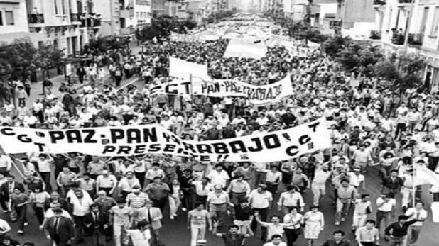 Resultado de imagen para paro chile 1983