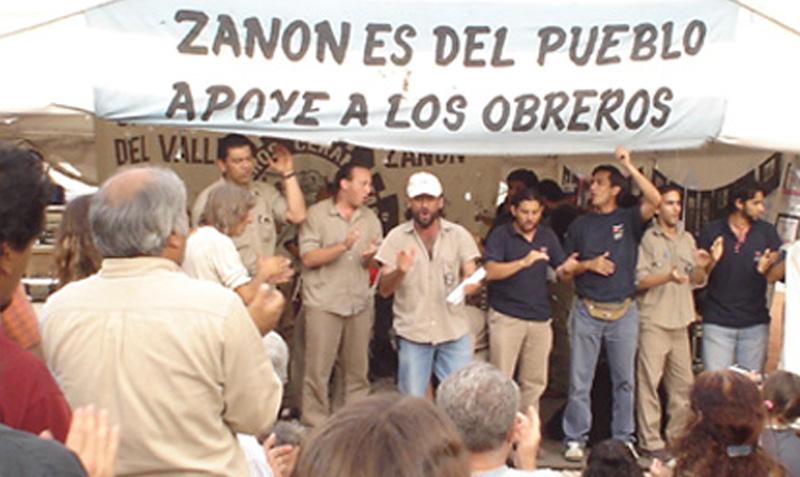 CRONOLOGÍA. Zanon: la primera fábrica recuperada en la crisis del 2001