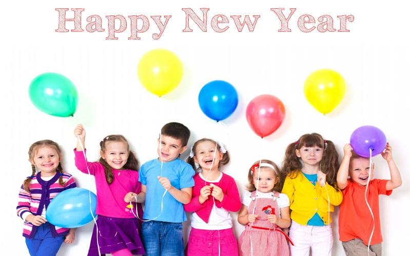 kid happy new year