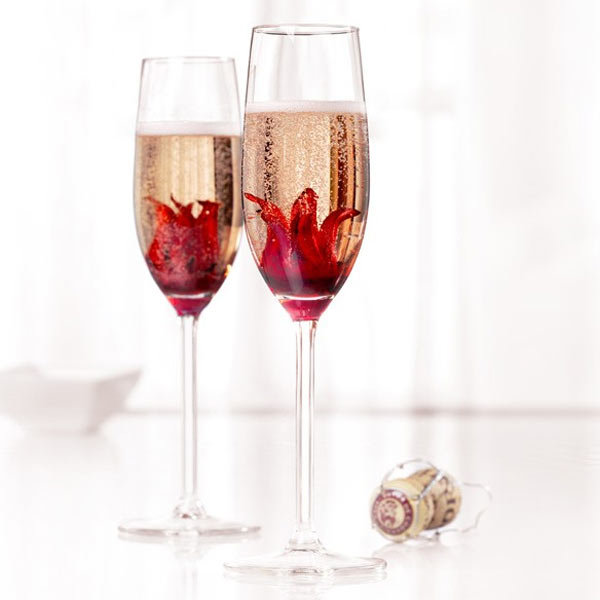 Du Champagne Fleuri La Joie Des Fleurs
