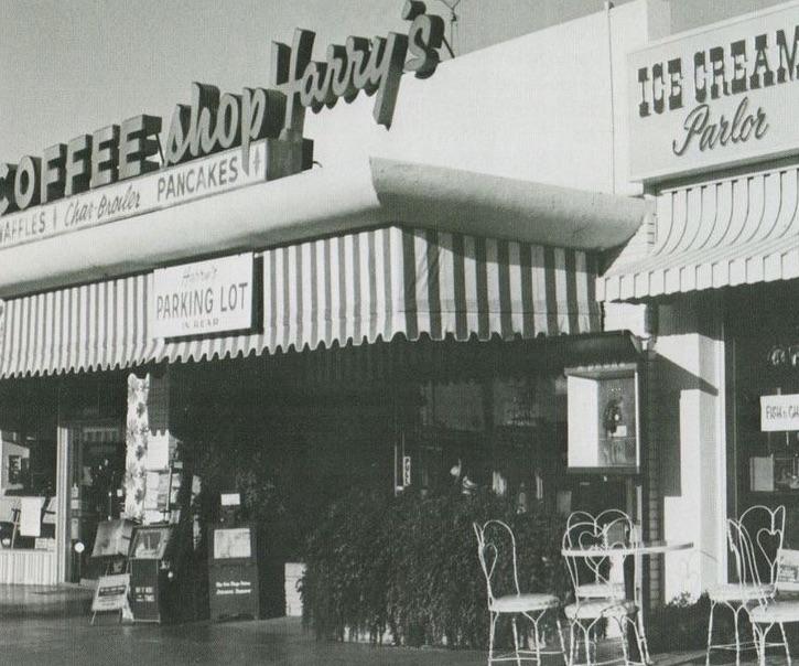 Harry's Coffee Shop in La Jolla