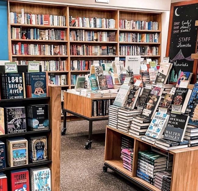 Warwick's bookstore in La Jolla