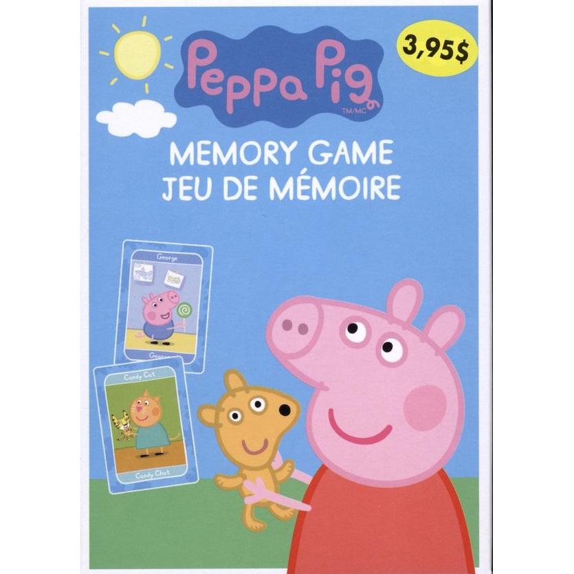 peppa pig jeu de memoire la jouetterie