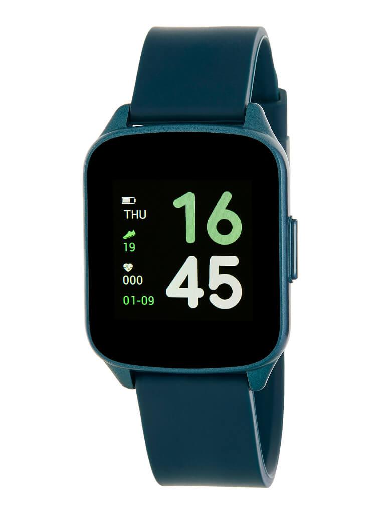 Reloj inteligente marea color azul y caja recgtangular