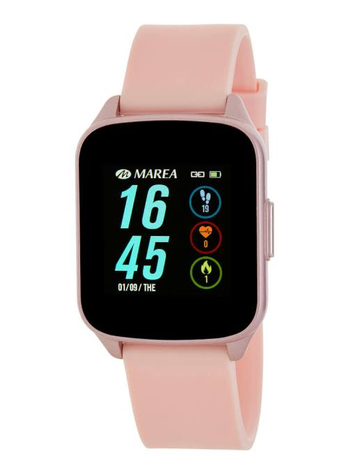 Reloj inteligente marea color rosa