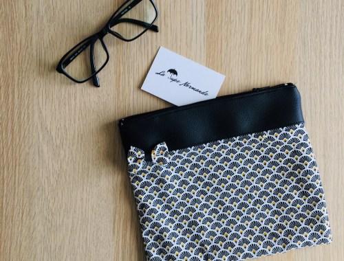 Trousse - l'éventail - La jupe Normande - vêtements et accessoires made in Normandie