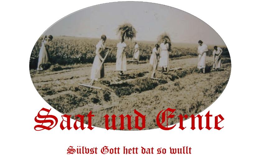 2018 - Veranstaltung - Saat und Ernte