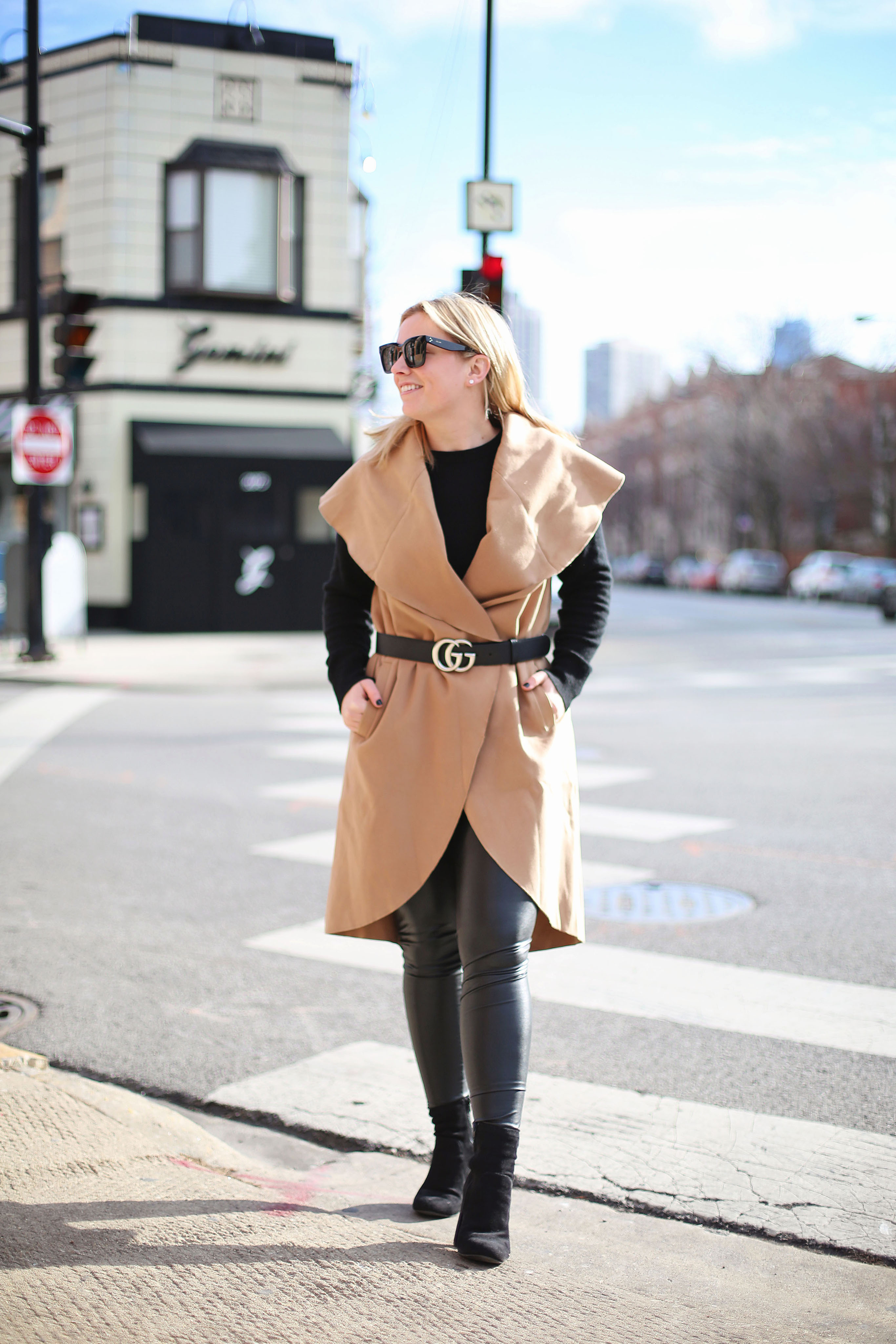 How to style a circle vest