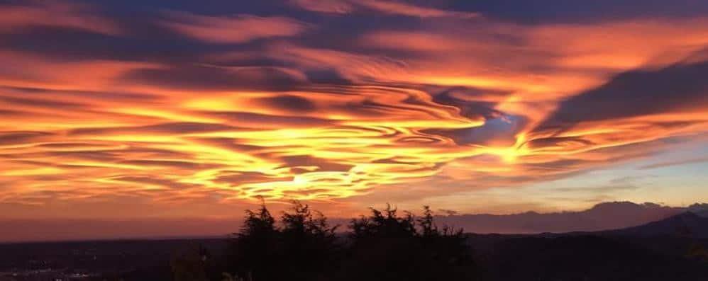 Sunset Como