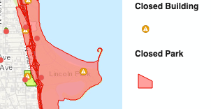 Montrose Point Bird Sanctuary Closed